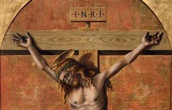 La heterodoxa Crucifixión de Crivelli
