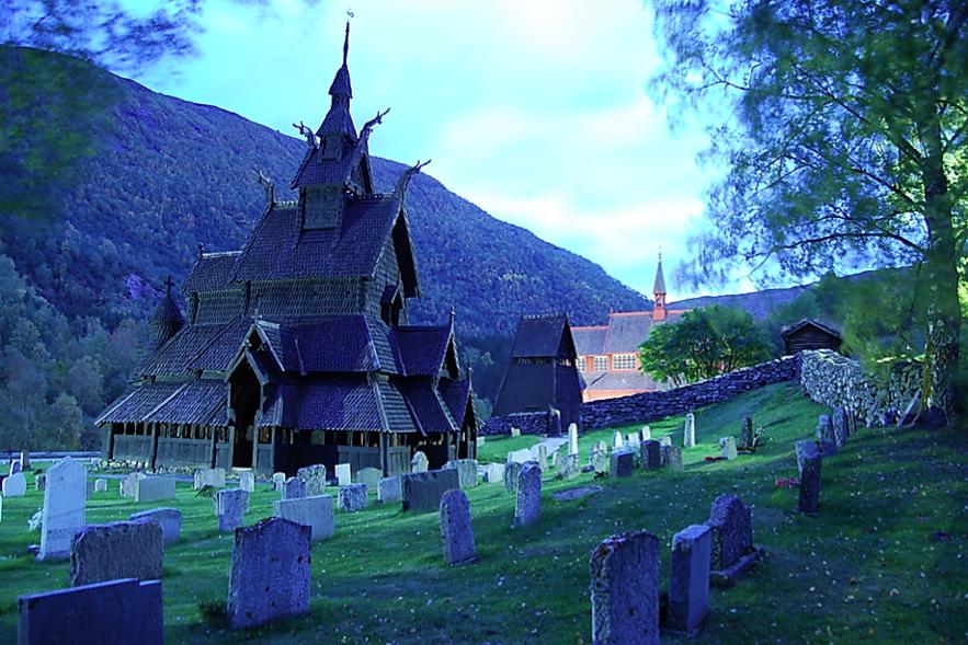 Iglesia de madera (Stavkirke) de Borgund