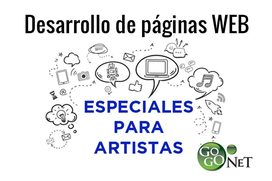 WEB ARTISTAS